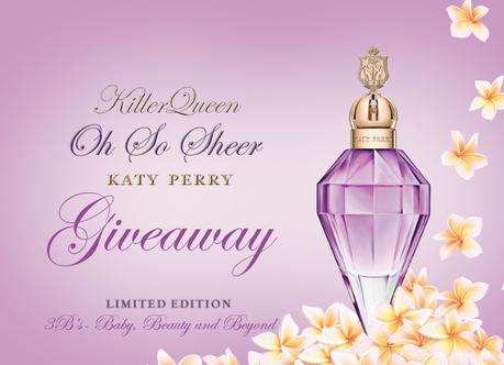 WIN- 1 of 5 Katy Perry Oh So Sheer Frangrance's