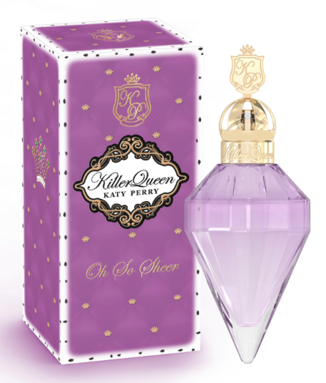 WIN- 1 of 5 Katy Perry Oh So Sheer Frangrance's