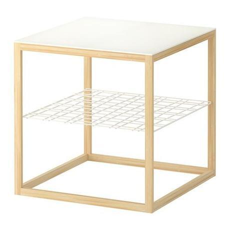 IKEA PS 2012 DIY: Milo Baughman Inspired Mosaic Cube Table for under $52