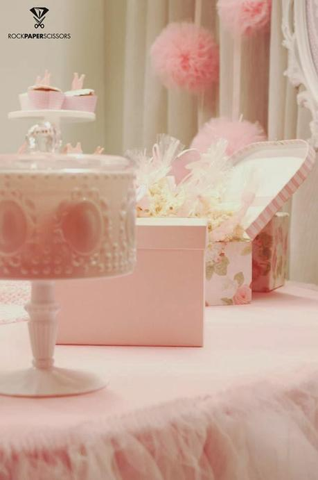 ballerina baby shower by rock paper scissors paperblog