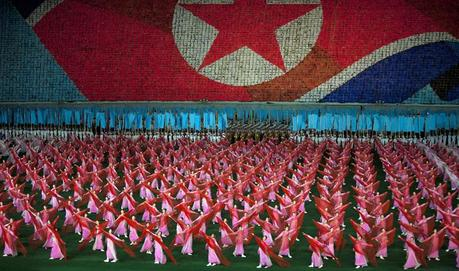 The Arirang Games, North Korea. Pic: AP