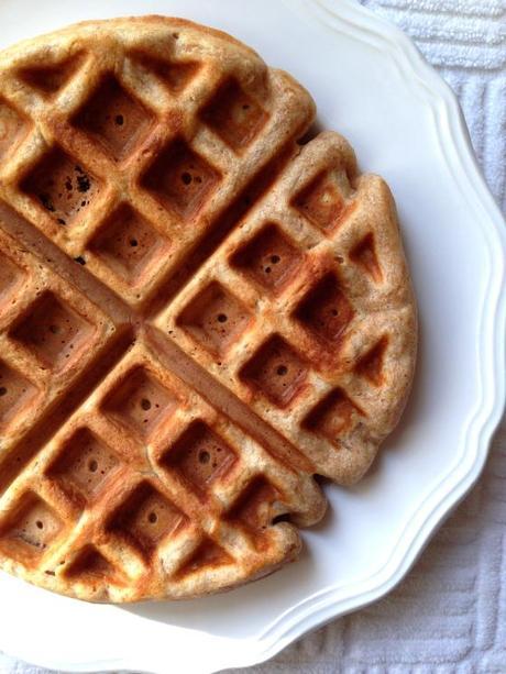 Spelt Waffles - Paperblog