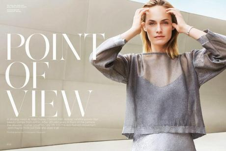 Amber Valletta - California Style Magazine March 2014
