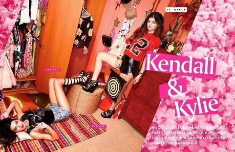Kendall & Kylie Jenner for Steve Madden Shoot by Kareem Black