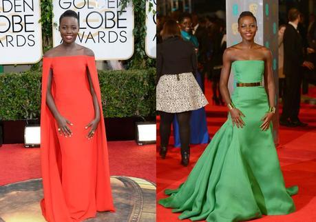 Lupita in Red and Green