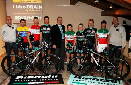 I.Idro Drain Bianchi MTB Team with high ambitions