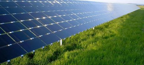 First Solar CdTe modules in a photovoltaic array at Dimbach, Germany