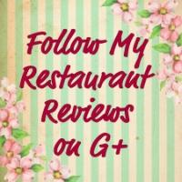Follow My Restaurant reviews on G+