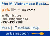 Pho Mi Vietnamese Restaurant on Urbanspoon
