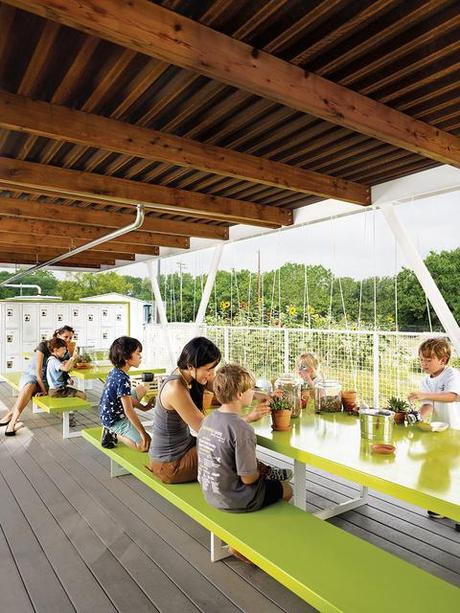 Outdoor Classroom Design Elementary School ~ Austin s casis elementary school teaching garden paper