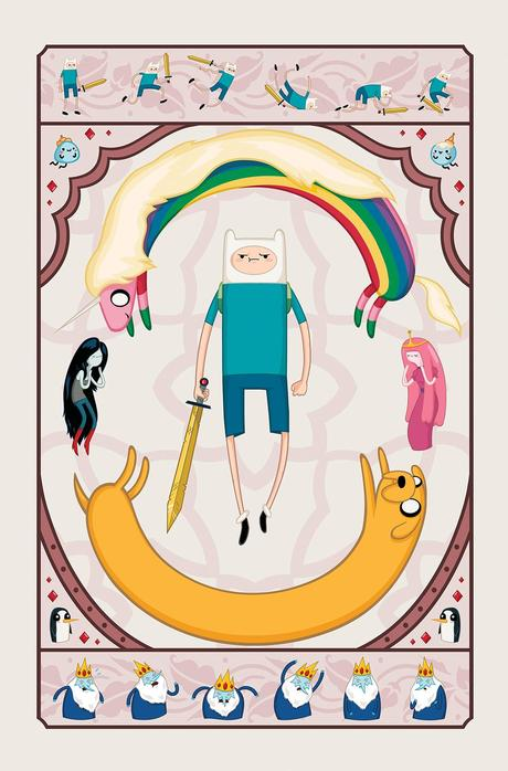 ADVENTURE TIME #28 Cover D by Zan Czyzewski