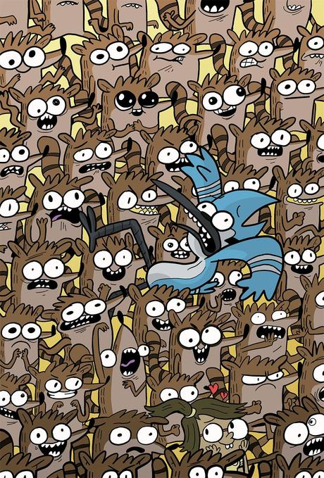 REGULAR SHOW 2014 ANNUAL #1 Cover C by KC Green