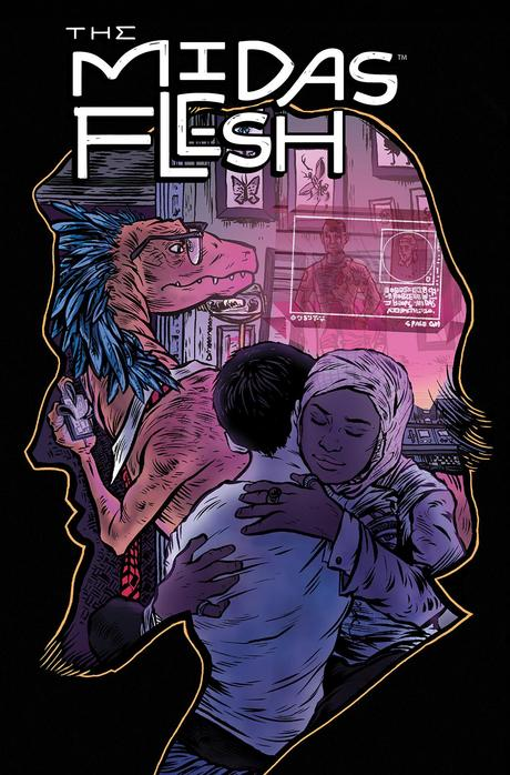 THE MIDAS FLESH #6 Cover A by John Keogh