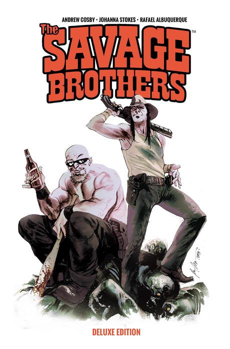 THE SAVAGE BROTHERS DELUXE EDITION TP Cover by Rafael Albuquerque