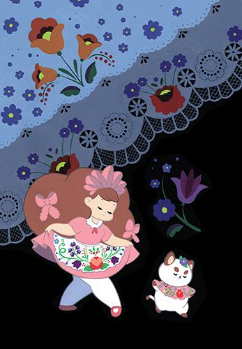 BEE AND PUPPYCAT #1 Cover D by Becky Dreistadt