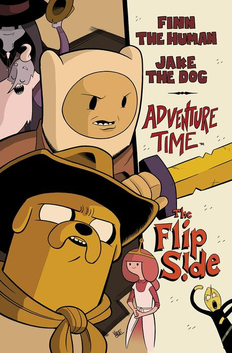 ADVENTURE TIME: THE FLIP SIDE #5 Cover by Yale Stewart
