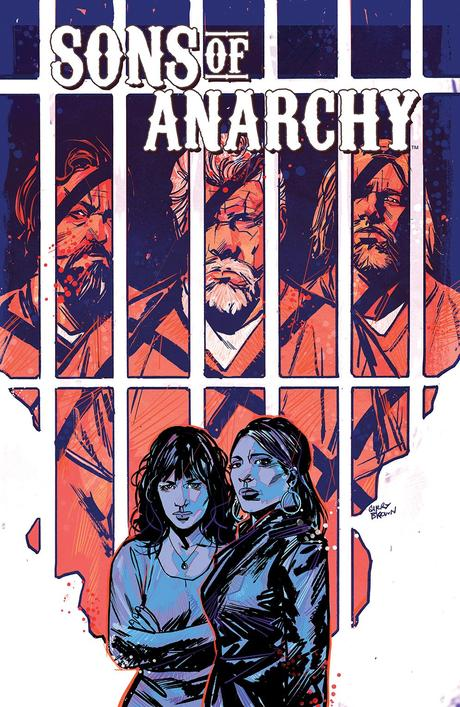 SONS OF ANARCHY #9 Cover by Garry Brown