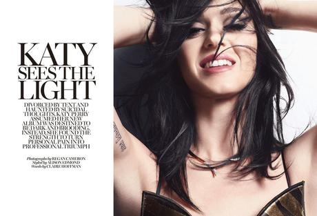 Katy Perry by Regan Cameron for  Magazine UK April 2014