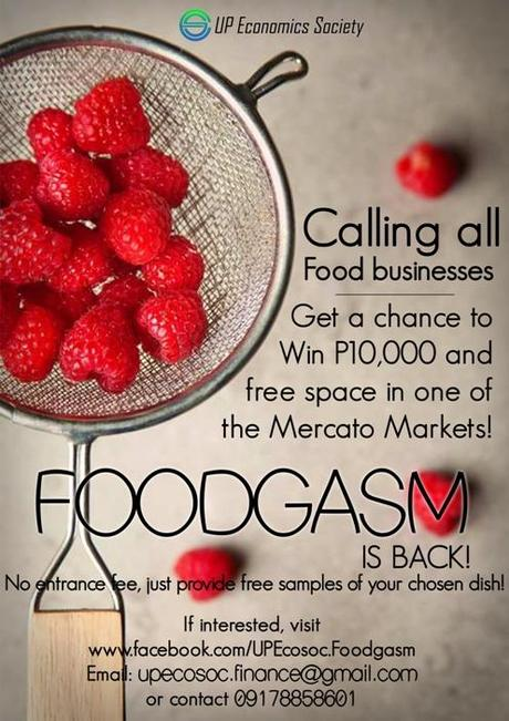 Foodgasm 2014 Calling All Food Businesses