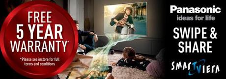Panasonic Viera Smart TVs - 5 Year Warranty!