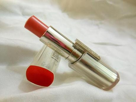 NEW! L'Oreal Paris Rouge Caresse Lipstick (301) Dating Coral : Review and Swatch