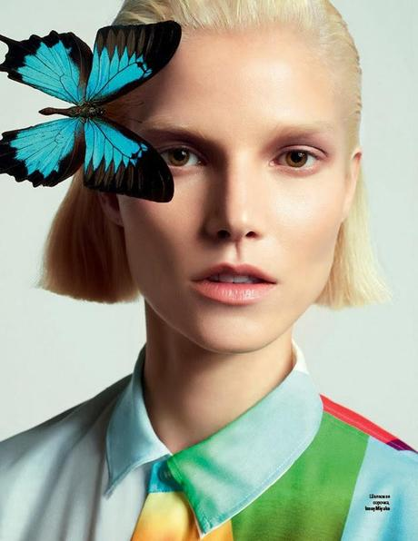 Suvi Koponen - Vogue Magazine Ukraine March 2014