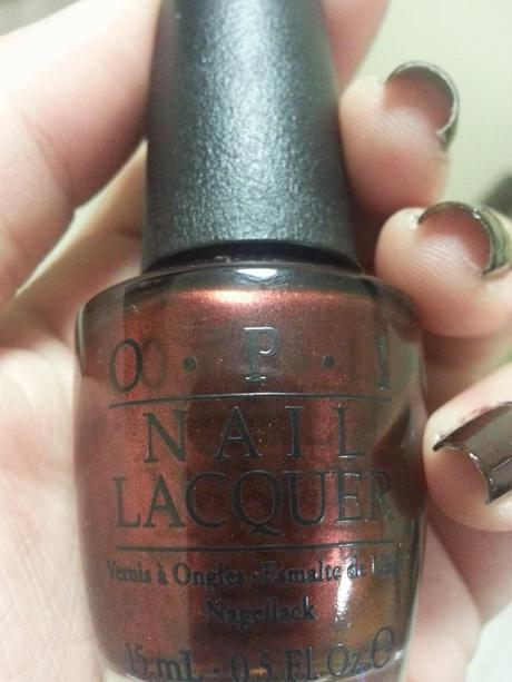 Review OPI German-icure Nail Lacquer , NOTD