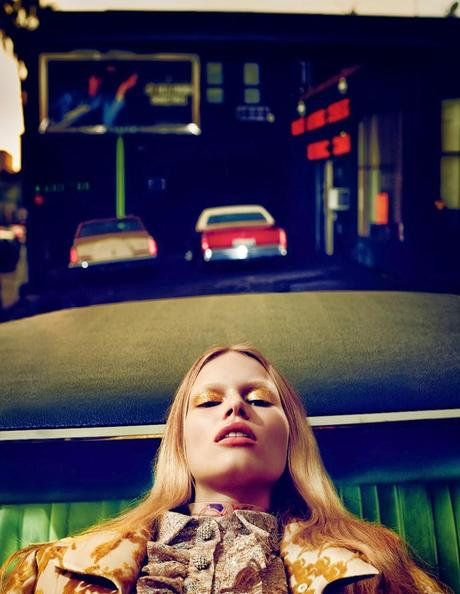 Anna Ewers by Mikael Jansson for Interview March 2014