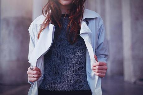 just female textured jumper