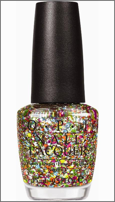 O.P.I Glitter Polish Dupe...From Poundland!