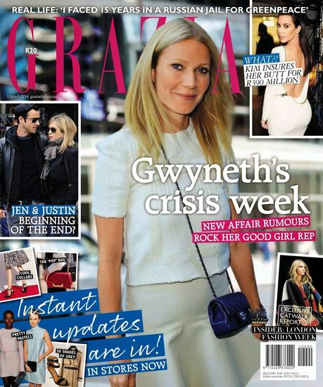 Gwyneth Paltrow - Grazia South Africa March 2014