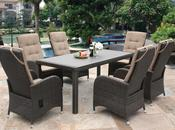 Reclining Rattan Garden Furniture 2014
