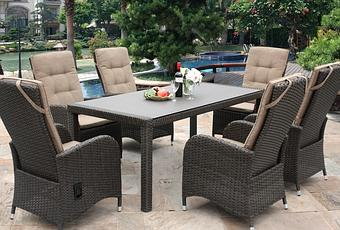 Garden Furniture Qd reclining rattan garden furniture is new for 2014 - paperblog
