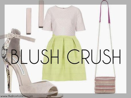 Blush Crush, Color Trends Spring 2014, Outfits, Boston Blogger, Fashion Blogger, Spring Shopping 2014