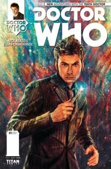 Tenth Doctor cover