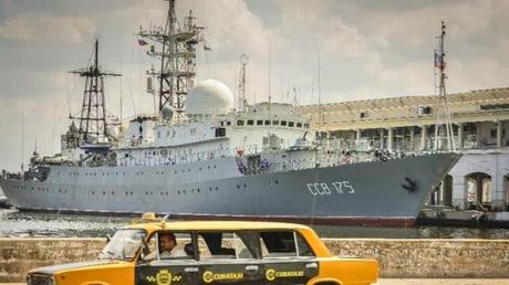 WW3 On Our Doorstep? Russia Spy Ship In Cuba As Tensions Rise Between US And Russia (Video)