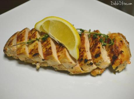 Garlic, Lemon & Thyme Roasted Chicken Breasts - Paperblog