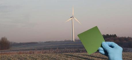 Solid oxide electrolysis cells can store the energy from wind turbines