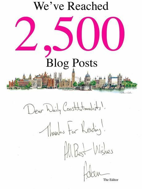 We're Celebrating 2,500 Blog Posts! Thanks For Reading!
