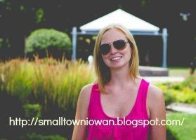 Small town Iowan family