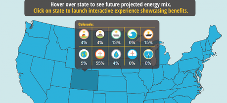 This interactive graphic shows how each state can move to 100 percent renewable energy by 2050