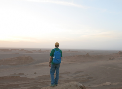 backpacking in iran kaluts desert