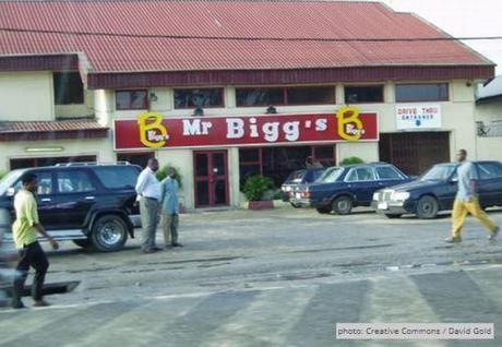 Nigerian cannibal restaurant