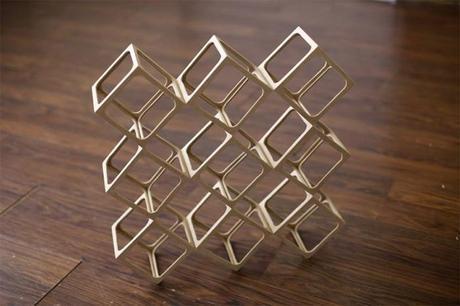 Ghostcube: Mind Bending Wooden Sculptures by Erik Åberg