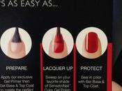 Glossy Sensationail Nails
