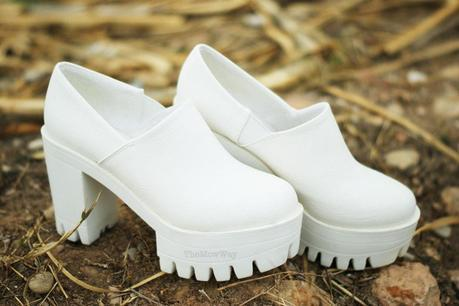 TheMowWay.com  - New in my wardrobe: Chunky white shoes