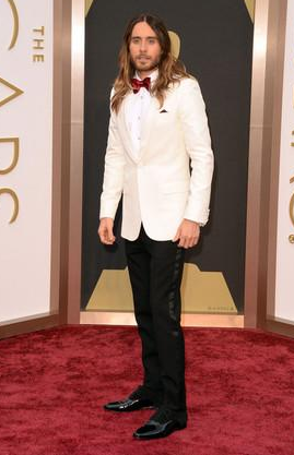 jared leto oscar red carpet