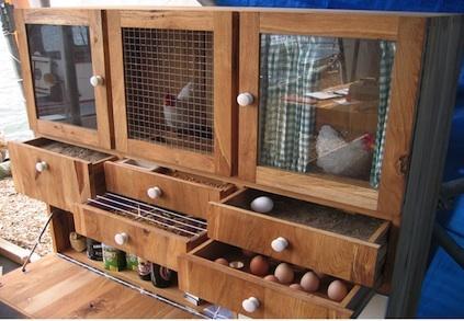 A Dutch Designer S Modern Chicken Coop Paperblog