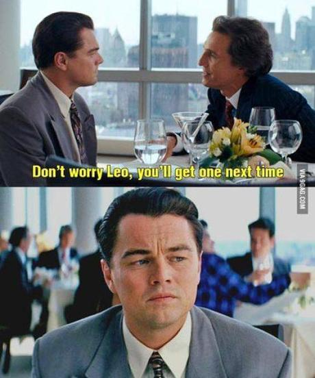 The Internet Reacts To Leonardo DiCaprio Not Getting an Oscar (again)
