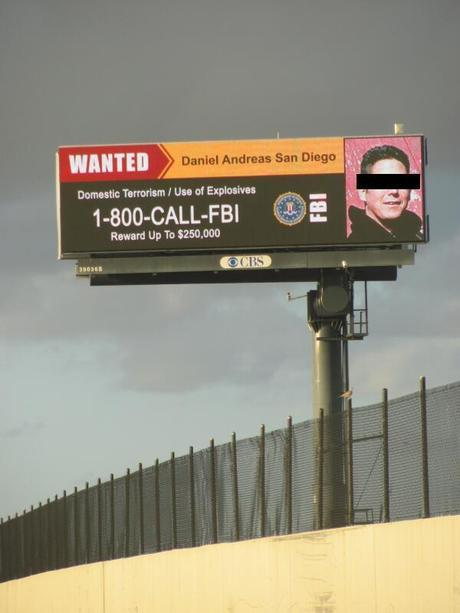 Billboard located on I-95 in Lake Worth, FL, March 3, 2014